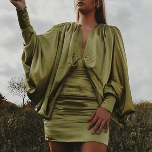 ASOS green mini dress!